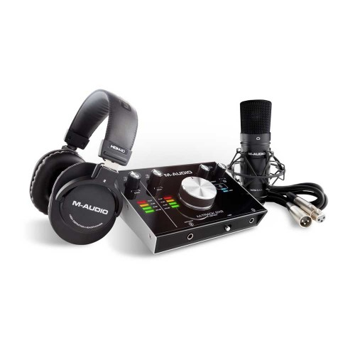 پکیج استودیویی M-Audio M-Track 2×2 Vocal Studio Pro